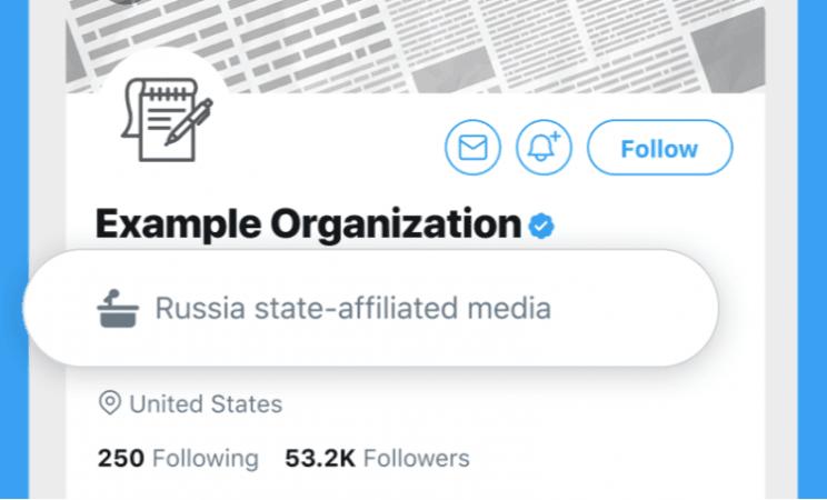 Label Twitter