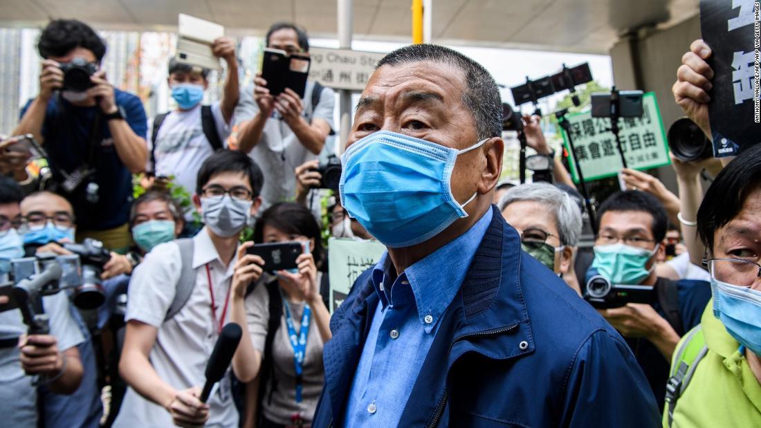 Jimmy Lai, taipan media pro-demokrasi Hong Kong, ditangkap berdasarkan undang-undang keamanan nasional yang baru