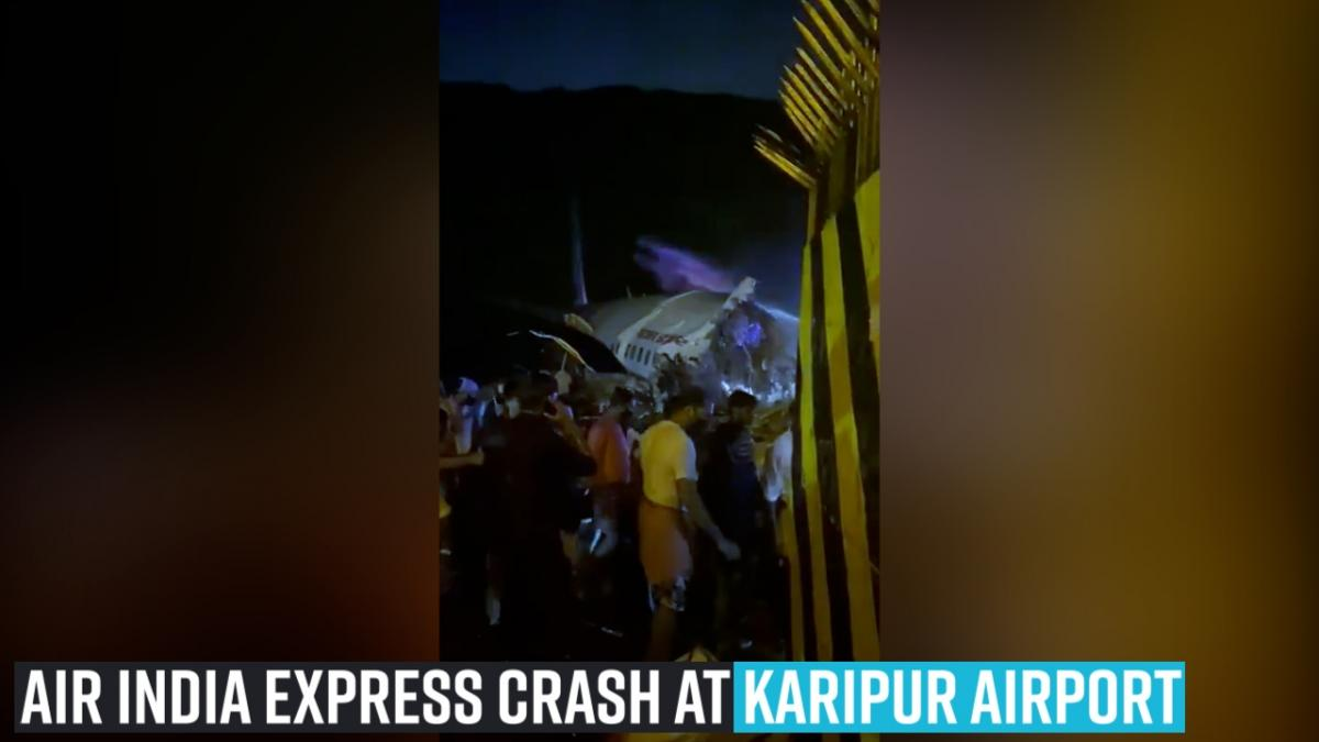 Air India Express crash at Karipur airport