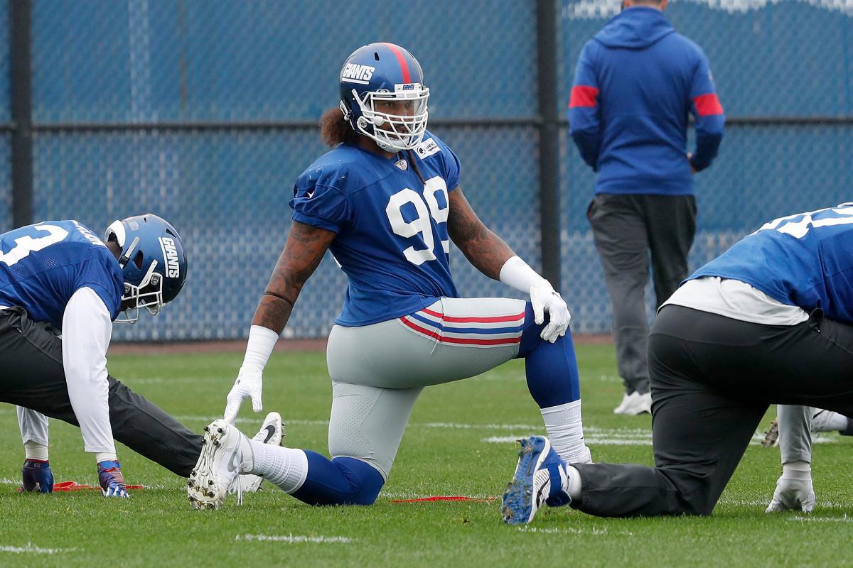 Leonard Williams masuk daftar cedera Giants dengan masalah hamstring