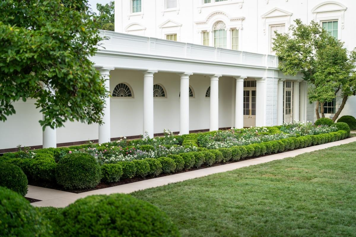 Very Melania; How netizens reacted to newly-renovated Rose Garden