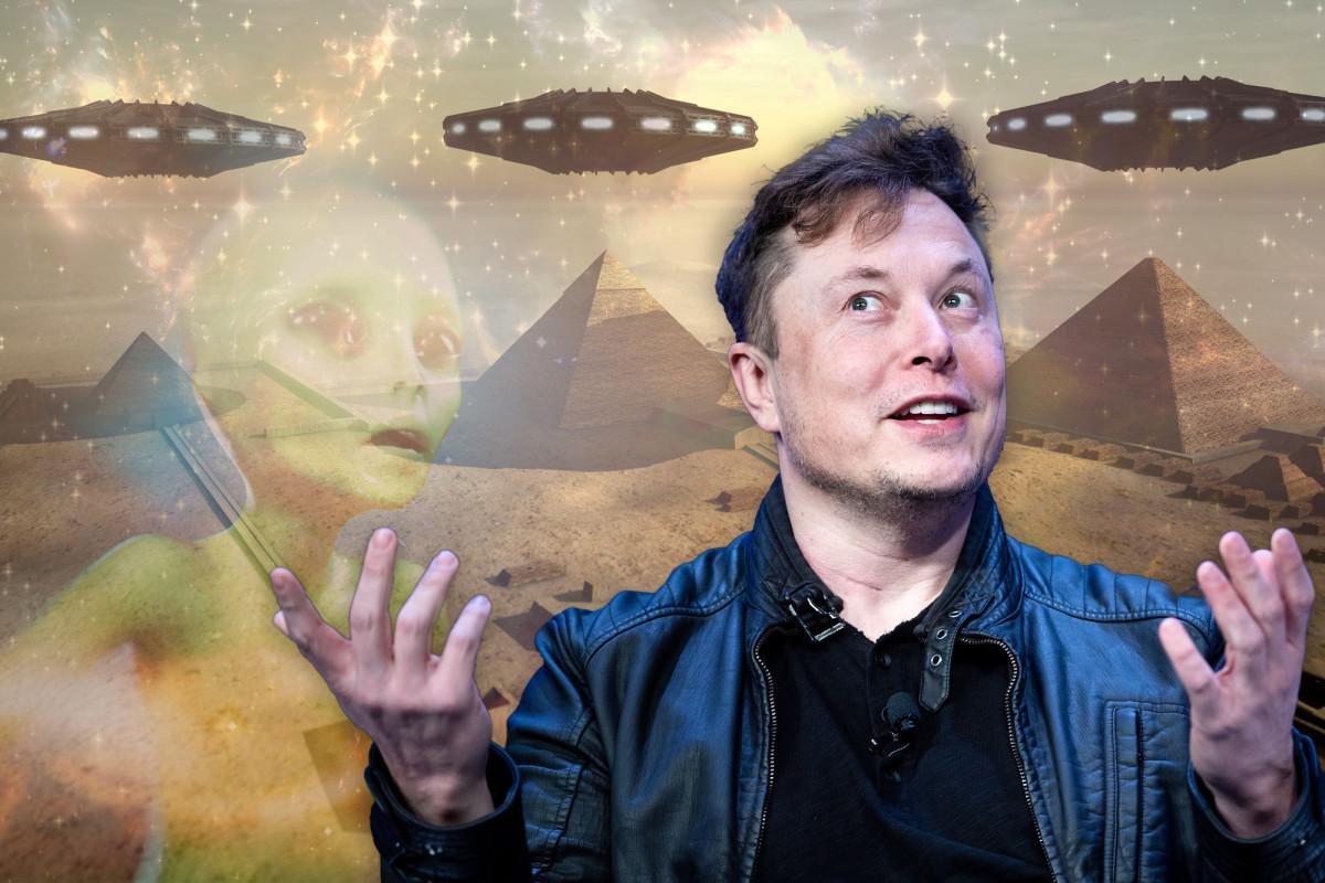 Mesir mengundang Elon Musk untuk berkunjung setelah ia men-tweet alien yang membangun piramida