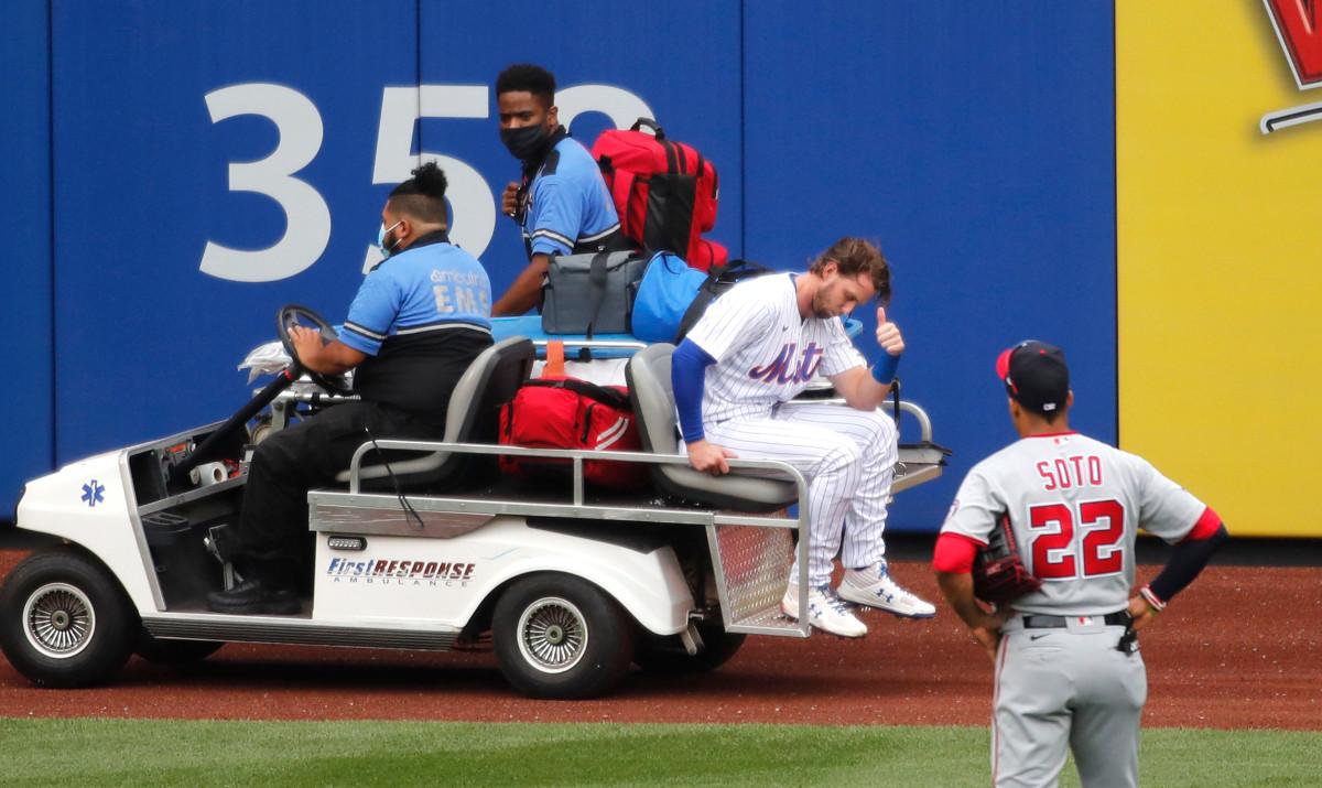 Mets 'Jeff McNeil takut terburuk setelah' menakutkan 'menabrak dinding
