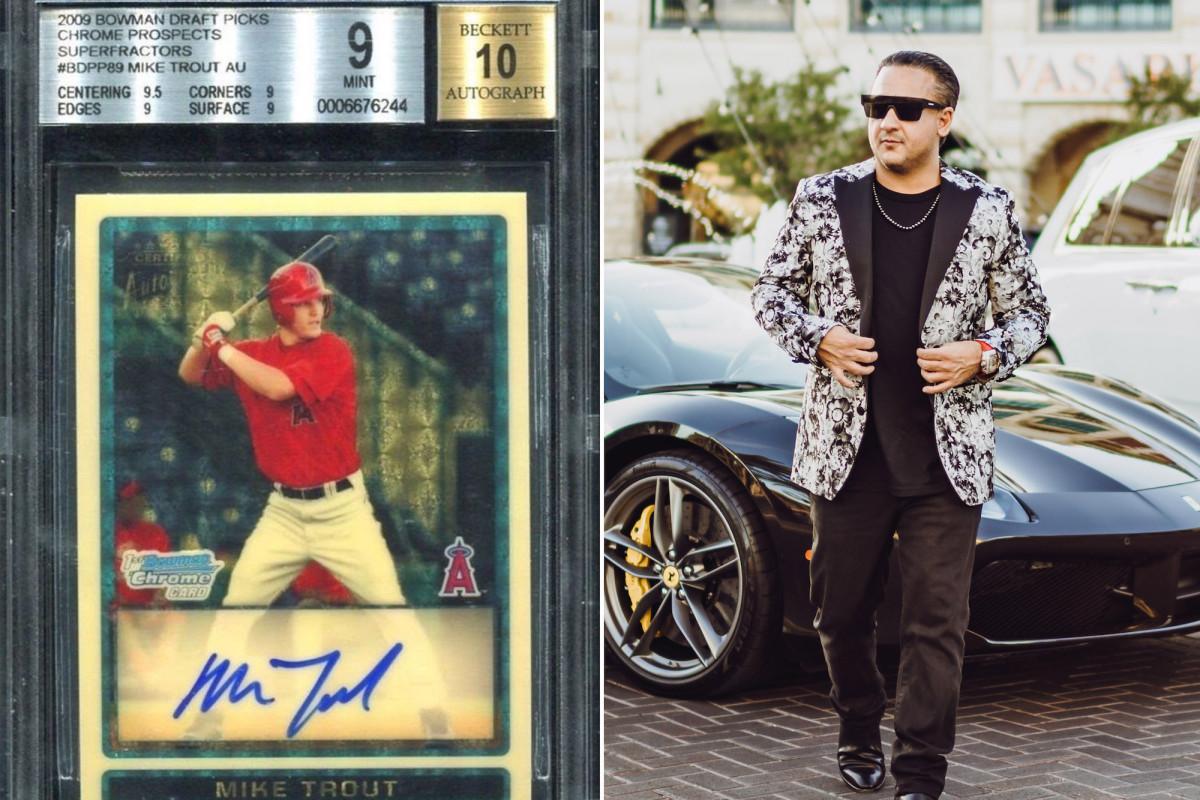 Panggilan telepon panas di balik penjualan kartu Mike Trout 'Vegas' Dave Oancea senilai $ 3,8 juta