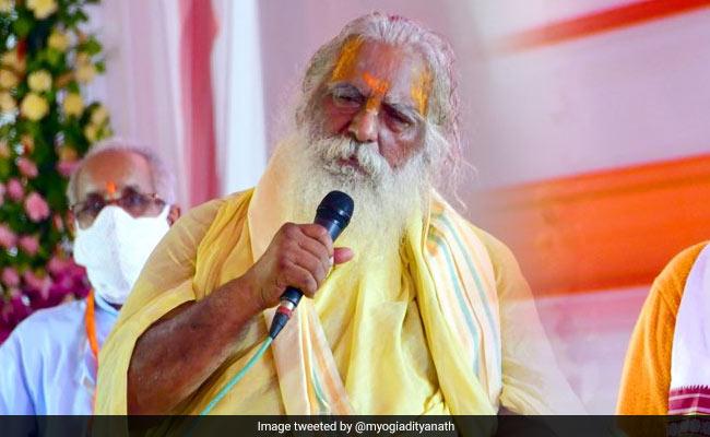 Ram Temple Trust Head Tes Covid Positif, Panggung Bersama Dengan PM Di Ayodhya