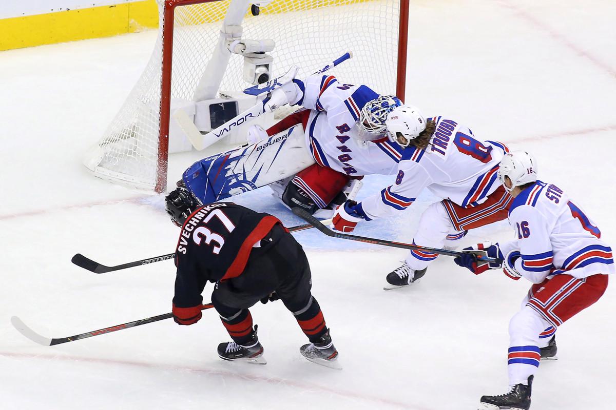 Rangers di tempat yang mengerikan sebagai era Henrik Lundqvist mungkin berakhir