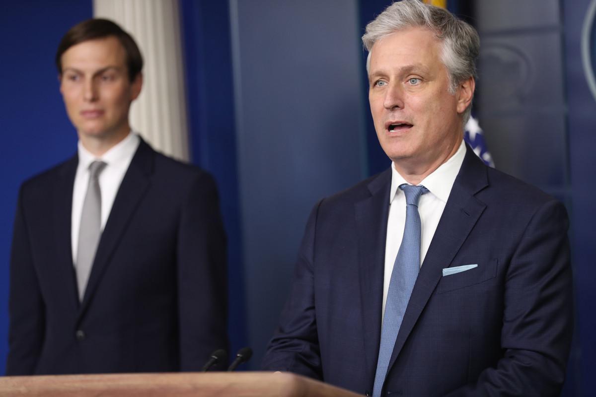 Trump harus menjadi 'pelari terdepan' untuk Hadiah Nobel Perdamaian: O'Brien