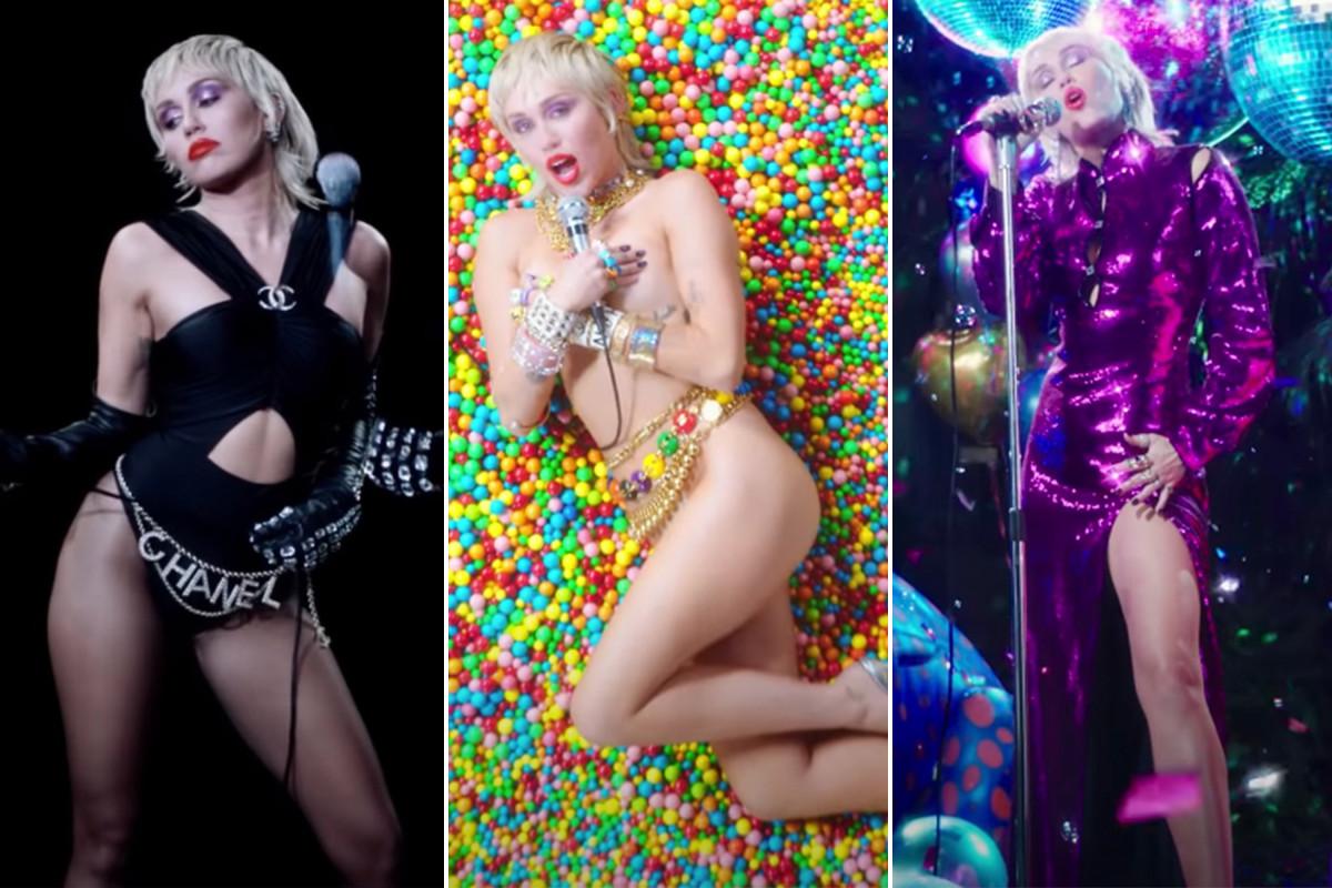 Video musik 'Midnight Sky' Miley Cyrus baru adalah pesta mode